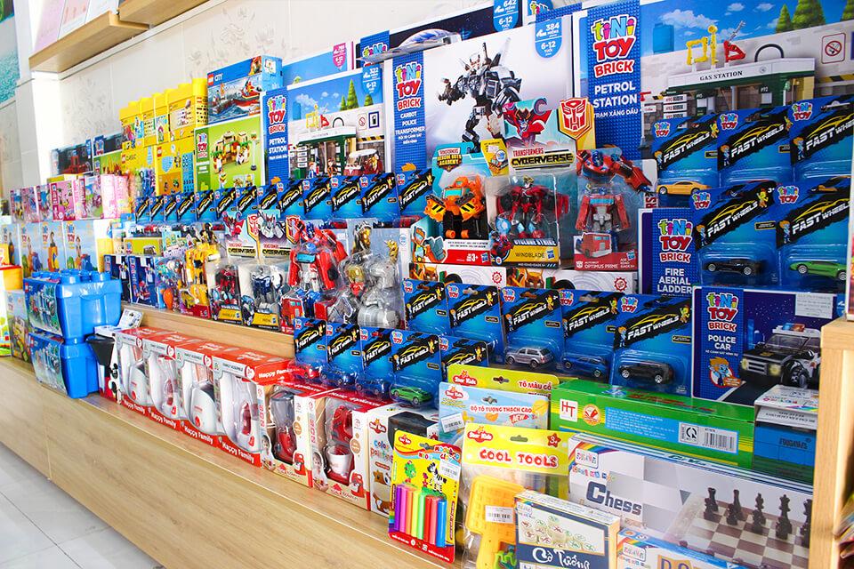 Cửa hàng bán buôn bàn lẻ đồ chơi an toàn Green toys