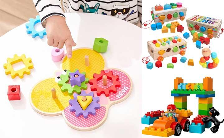 Mua đồ chơi cho bé 1 tuổi ở đâu