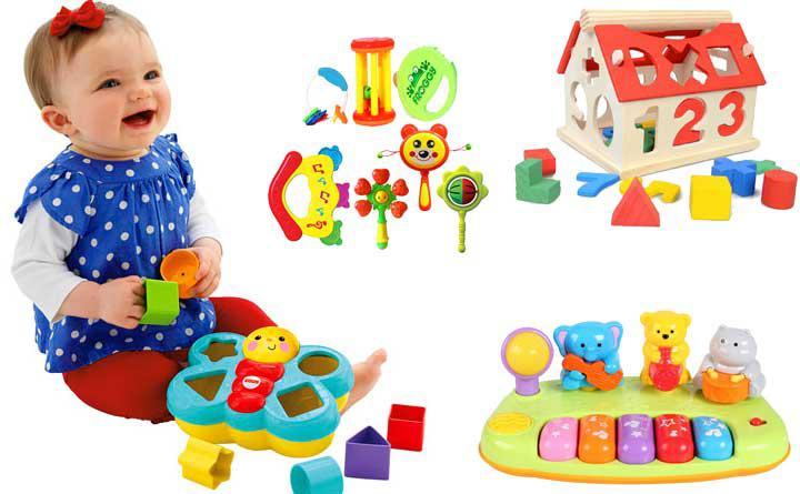 Tiêu chí lựa chọn đồ chơi cho trẻ 1 tuổi